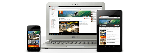 YouTube One brand channel with Google Analytics