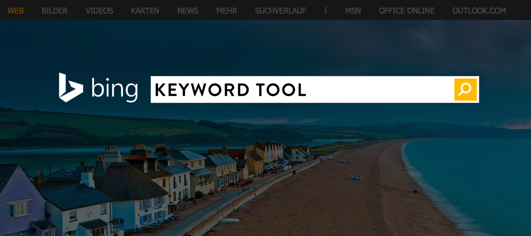 SEM Tutorial: How to Use the Bing Keyword Tool