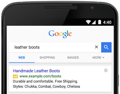 New Ad Extension for Google AdWords: Structured Snippets