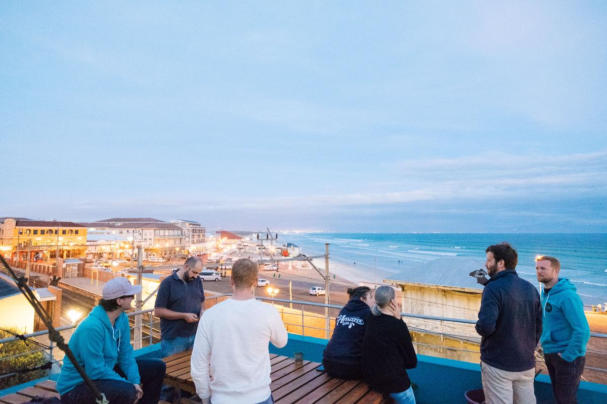 The Amazee Team in Muizenberg, Cape Town.