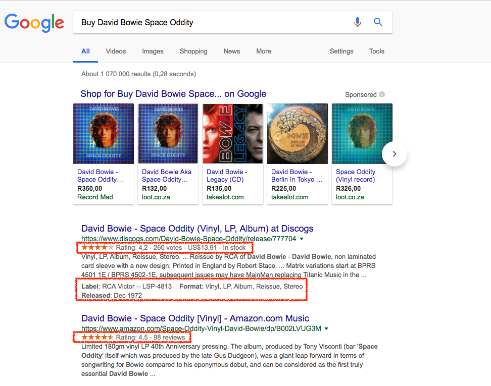 Adding structured data to your page can help you stand out in the Search Results