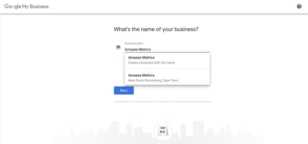 Google My Business Business Name