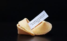 Fortune Cookie with Content