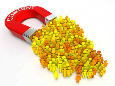 Content Marketing for SEO attracts visitors
