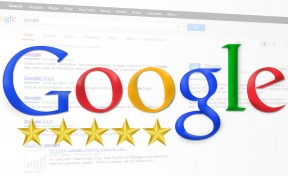SEO for Hotel Marketing (symbolic picture with five star rating)