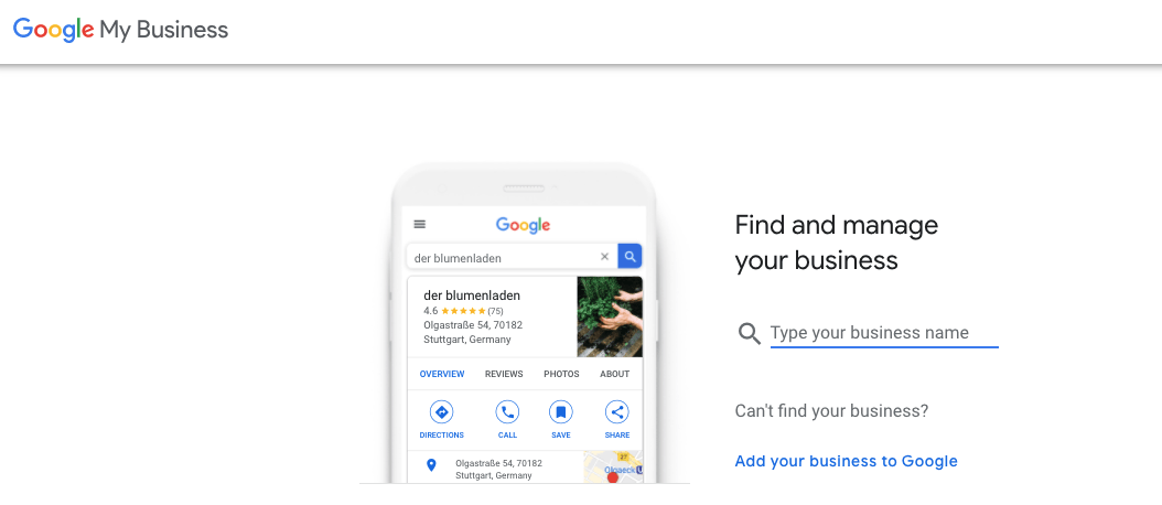 Find your business